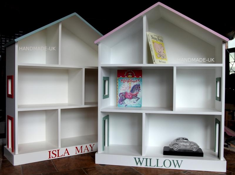 Dolls House Bookcase Doll Shelves